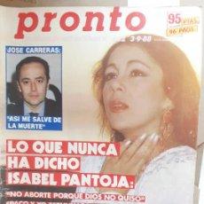 Coleccionismo de Revistas y Periódicos: ISABEL PANTOJA. Lote 244454445