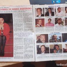 Coleccionismo de Revistas y Periódicos: MARIA ASQUERINO PEPE TOUS FERNANDO FERNAN GOMEZ PACO RABAL CARLOS LARRAÑAGA KREMEL JOAQUIN. Lote 244455300