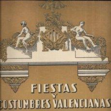 Coleccionismo de Revistas y Periódicos: == L01 - FIESTA Y COSTUMBRES VALENCIANAS - FALLA J. COSTA Y C. ALTEA - 1949. Lote 244513190