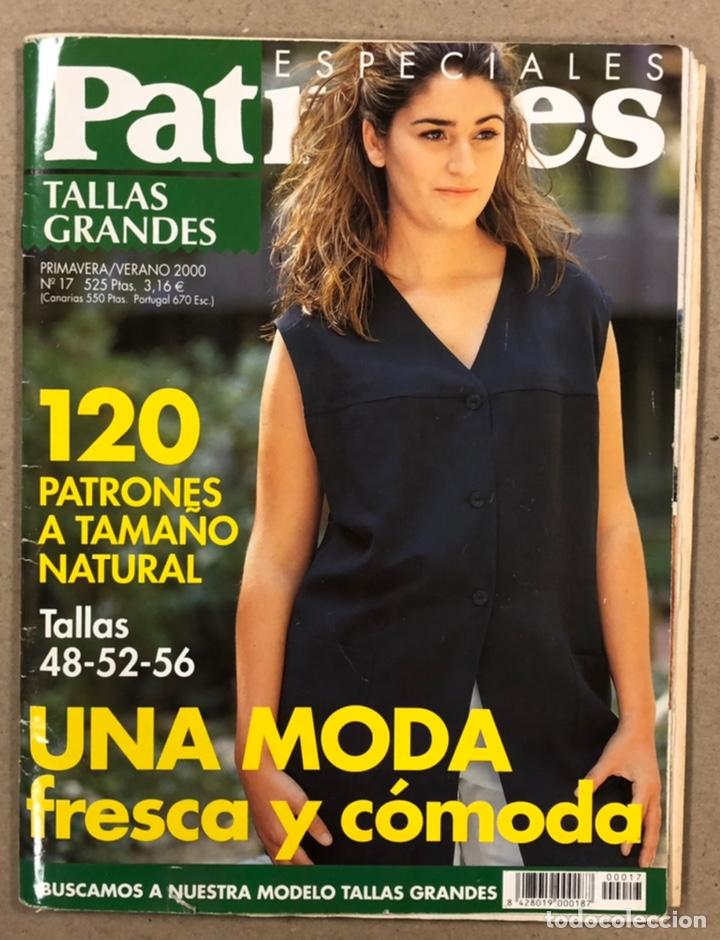 PATRONES ESPECIALES TALLAS GRANDES N° 17 (2000). LA MODA MÁS COMPLETA. INCLUYE PATRONES. (Coleccionismo - Revistas y Periódicos Modernos (a partir de 1.940) - Otros)