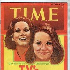 Coleccionismo de Revistas y Periódicos: 1974 REVISTA TIME OCTUBRE 28 TV´S FUNNY GIRLS MARY MOORE & VALERIE HARPER PATTON DOOLITTLE WATERGATE. Lote 244623720