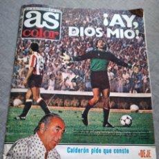 Coleccionismo de Revistas y Periódicos: REVISTA AS FUTBOL POSTER REAL VALLADOLID MADRID. Lote 244643395