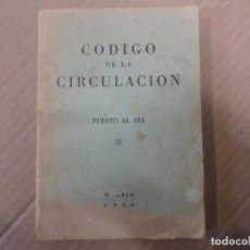 Coleccionismo de Revistas y Periódicos: CODIGO DE LA CIRCULACION MADRID 1958. Lote 244644510