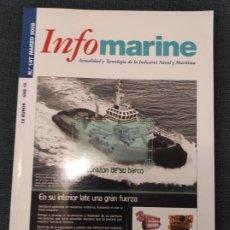 Coleccionismo de Revistas y Periódicos: INFOMARINE, ACTUALIDAD Y TECNOLOGIA DE LA INDUSTRIA NAVAL Y MARITMA MARZO 2008 - LOTE RESERVADO. Lote 244645350