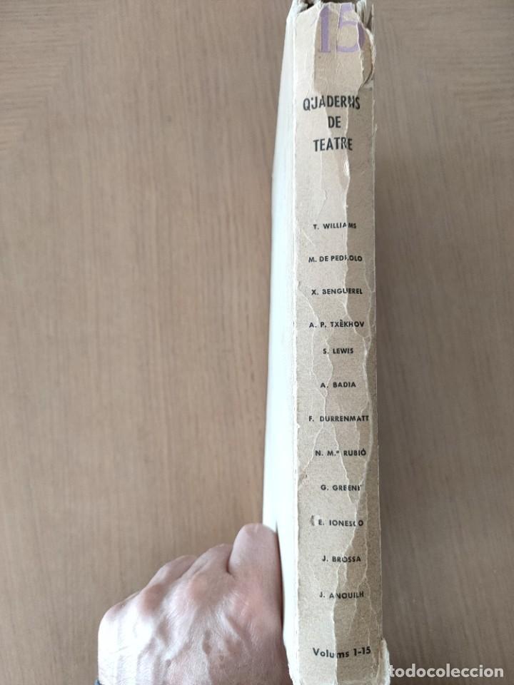 Coleccionismo de Revistas y Periódicos: Quaderns de teatre - Foto 2 - 244669335