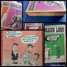 Coleccionismo de Revistas y Periódicos: LOTE DE 45 - HERMANO LOBO- Nº 1-2-3-4-5...-VER NUMERACION-. Lote 244791750