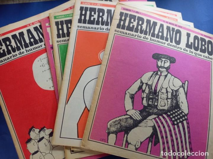 Coleccionismo de Revistas y Periódicos: LOTE DE 45 - HERMANO LOBO- Nº 1-2-3-4-5...-VER NUMERACION- - Foto 2 - 244791750