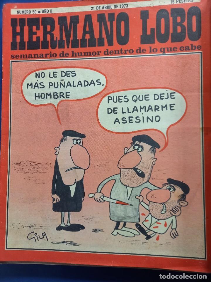 Coleccionismo de Revistas y Periódicos: LOTE DE 45 - HERMANO LOBO- Nº 1-2-3-4-5...-VER NUMERACION- - Foto 3 - 244791750