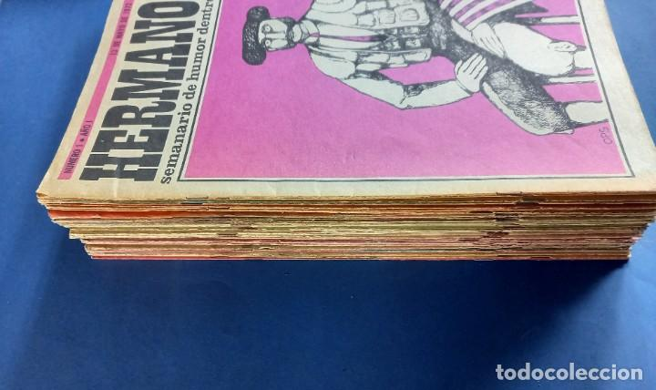 Coleccionismo de Revistas y Periódicos: LOTE DE 45 - HERMANO LOBO- Nº 1-2-3-4-5...-VER NUMERACION- - Foto 4 - 244791750