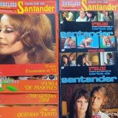 Coleccionismo de Revistas y Periódicos: LOTE DE 8 FOTONOVELAS -CARLOS DE SANTANDER. Lote 244802300