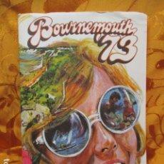 Coleccionismo de Revistas y Periódicos: BOURNEMOUTH 73 - REVISTA DE VIAJES. Lote 244926115