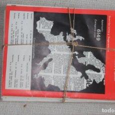 Coleccionismo de Revistas y Periódicos: REVISTA ARMAGEDON, EL PRIMER AÑO (1988) COMPLETO. Lote 244978335