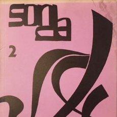 Coleccionismo de Revistas y Periódicos: SONDA 2 (FEB 1968) PROBLEMA Y PANORAMA DE LA MÚSICA CONTEMPORÁNEA (TOMÁS MARCO, RAMÓN BARCE. Lote 245000380