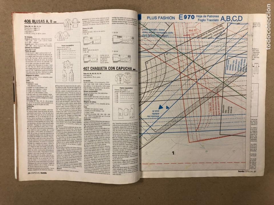 Coleccionismo de Revistas y Periódicos: BURDA ESPECIAL PLUS E970 TALLAS 44-54. TEMPORADA DE MODA PRIMAVERA VERANO. INCLUYE PATRONES. - Foto 2 - 287765823