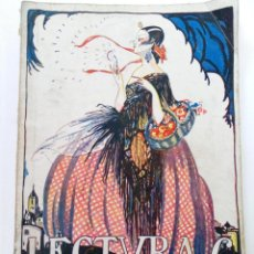 Coleccionismo de Revistas y Periódicos: REVISTA LECTURAS - AÑO IV Nº 34 - MARZO 1924.. Lote 245038950