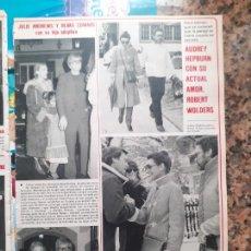 Coleccionismo de Revistas y Periódicos: JULIE ANDREWS AUDREY HEPBURN. Lote 245050980