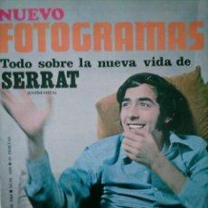 Coleccionismo de Revistas y Periódicos: NUEVO FOTOGRAMAS NUEVA VIDA DE SERRAT AUDREY HEPBURN XXIV 31 ENERO 1969. Lote 245104830