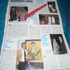Coleccionismo de Revistas y Periódicos: RECORTE : ROCIO JURADO, FANS DE SERRAT. JULIO IGLESIAS. SEMANA, MAYO 1983(#). Lote 245173690