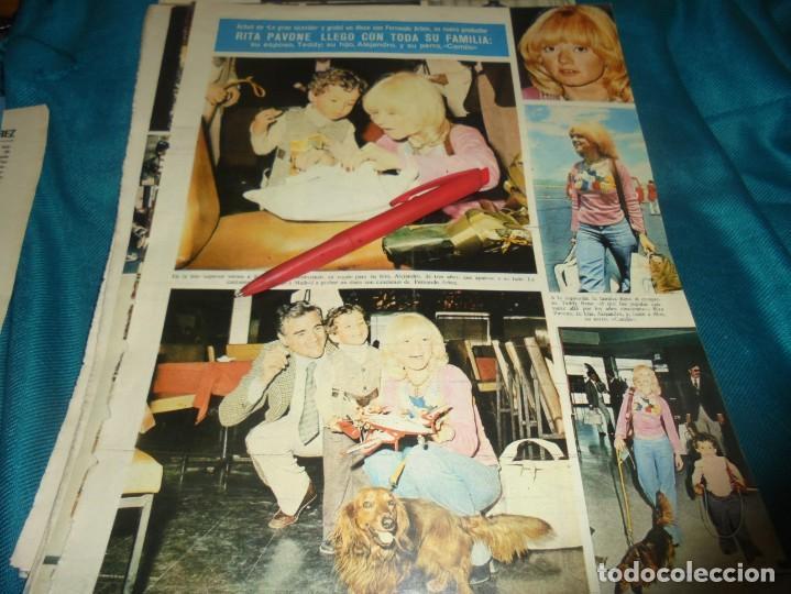 RECORTE : RITA PAVONE, EN ESPAÑA. SEMANA, MAYO 1973 (#) (Coleccionismo - Revistas y Periódicos Modernos (a partir de 1.940) - Otros)
