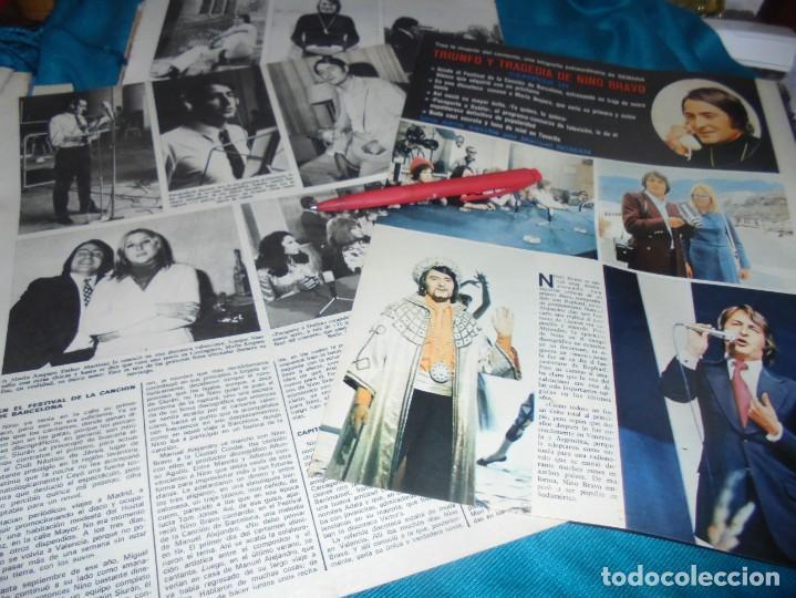 RECORTE : TRIUNFO Y TRAGEDIA DE NINO BRAVO. CAP 3. SEMANA, MAYO 1973 (#) (Coleccionismo - Revistas y Periódicos Modernos (a partir de 1.940) - Otros)