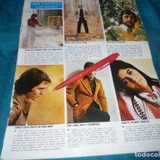 Coleccionismo de Revistas y Periódicos: RECORTE : 6 CANTANTES CON NOTICIA : CAMILO SESTO. JEANETTE. MIGUEL RIOS. SEMANA, MAYO 1973 (#). Lote 245199310