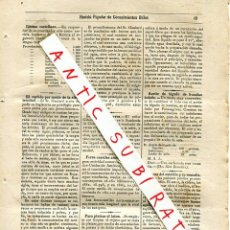 Coleccionismo de Revistas y Periódicos: REVISTA AÑO 1884 CURTIDO POR ELECTRICIDAD ESMERIL FIEBRE TIFOIDEA TINTURA PARA CABELLOS GAS COCINAS. Lote 245309100
