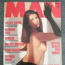 Coleccionismo de Revistas y Periódicos: REVISTA MAN N.º 73 1993 MARIBEL VERDÚ. VERÓNICA FORQUÉ, ROMARIO, AINHOA ARTETA, WHITNEY HOUSTON.... Lote 245369195