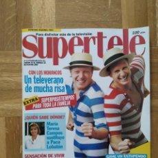 Coleccionismo de Revistas y Periódicos: REVISTA SUPERTELE Nº 69. LOS MORANCOS. SENSACION DE VIVIR. HULK HOGAN. SANTA BARBARA. BEATRIZ RICO. Lote 245371860