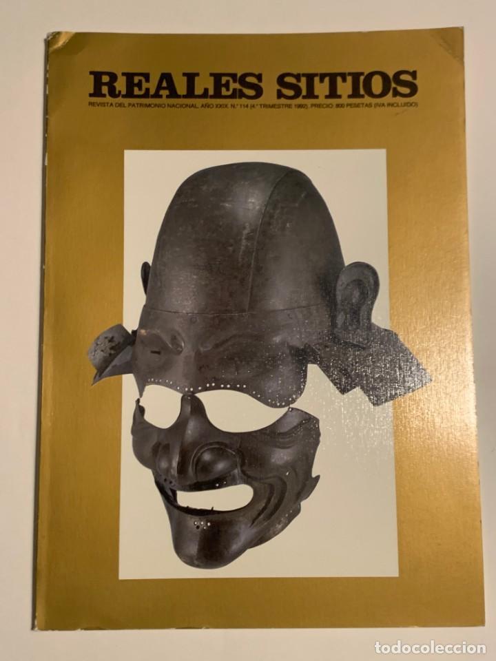 REVISTA REALES SITIOS - PATRIMONIO NACIONAL - AÑO XXIX Nº114 CUARTO TRIMESTRE 1992 (Coleccionismo - Revistas y Periódicos Modernos (a partir de 1.940) - Otros)