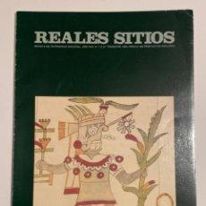 Coleccionismo de Revistas y Periódicos: REVISTA REALES SITIOS - PATRIMONIO NACIONAL - AÑO XXIX Nº112 SEGUNDO TRIMESTRE 1992. Lote 245374410
