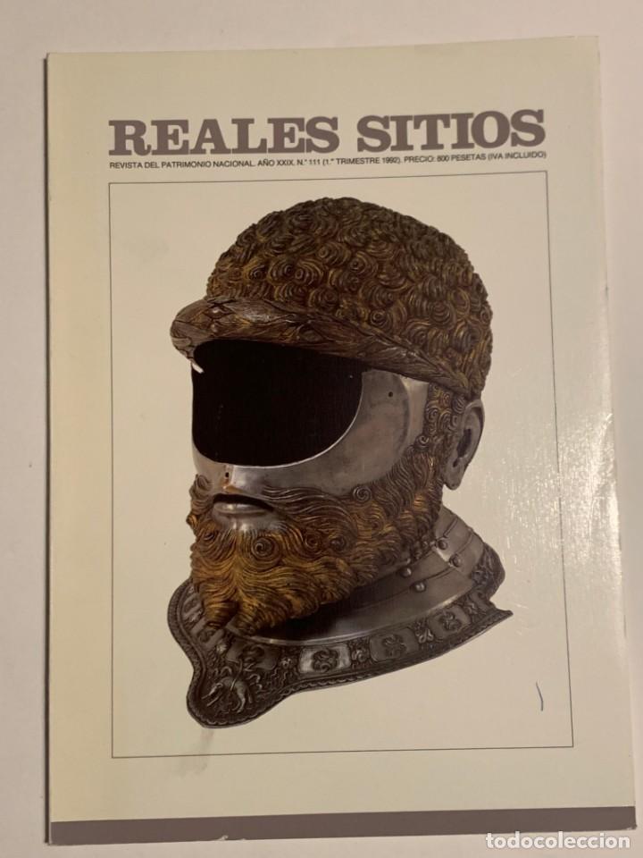 REVISTA REALES SITIOS - PATRIMONIO NACIONAL - AÑO XXIX Nº111 PRIMER TRIMESTRE 1992 (Coleccionismo - Revistas y Periódicos Modernos (a partir de 1.940) - Otros)