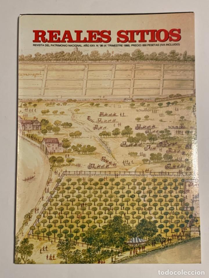 REVISTA REALES SITIOS - PATRIMONIO NACIONAL - AÑO XXV Nº98 CUARTO TRIMESTRE 1988 (Coleccionismo - Revistas y Periódicos Modernos (a partir de 1.940) - Otros)