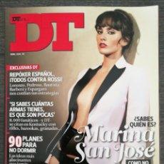 Coleccionismo de Revistas y Periódicos: REVISTA DT ABRIL 2010 MARINA SAN JOSÉ, ALBERTO AMMANN, LARA STONE, NADAL, KATTY PERRY, LORENZO. Lote 245374755