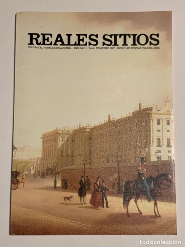 REVISTA REALES SITIOS - PATRIMONIO NACIONAL - AÑO XXIV Nº94 CUARTO TRIMESTRE 1987 (Coleccionismo - Revistas y Periódicos Modernos (a partir de 1.940) - Otros)