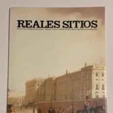 Coleccionismo de Revistas y Periódicos: REVISTA REALES SITIOS - PATRIMONIO NACIONAL - AÑO XXIV Nº94 CUARTO TRIMESTRE 1987. Lote 245374965
