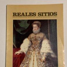 Coleccionismo de Revistas y Periódicos: REVISTA REALES SITIOS - PATRIMONIO NACIONAL - AÑO XXVI Nº102 CUARTO TRIMESTRE 1989. Lote 245375120