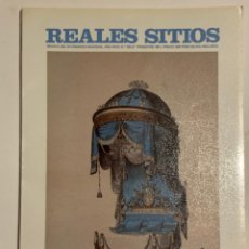 Coleccionismo de Revistas y Periódicos: REVISTA REALES SITIOS - PATRIMONIO NACIONAL - AÑO XXVIII Nº109 TERCER TRIMESTRE 1991. Lote 245375870