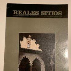 Coleccionismo de Revistas y Periódicos: REVISTA REALES SITIOS - PATRIMONIO NACIONAL - AÑO XXVII Nº106 CUARTO TRIMESTRE 1990. Lote 245376085