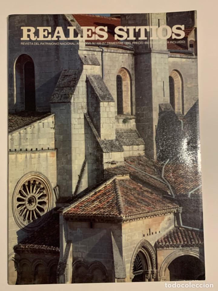 REVISTA REALES SITIOS - PATRIMONIO NACIONAL - AÑO XXVII Nº105 TERCER TRIMESTRE 1990 (Coleccionismo - Revistas y Periódicos Modernos (a partir de 1.940) - Otros)