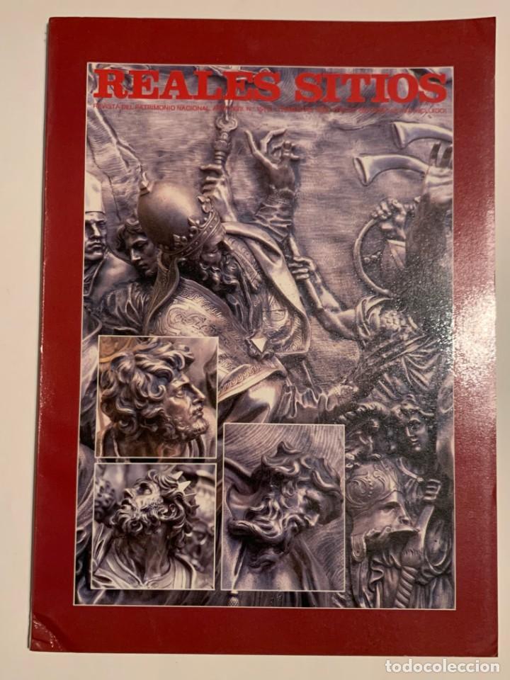 REVISTA REALES SITIOS - PATRIMONIO NACIONAL - AÑO XXVII Nº104 SEGUNDO TRIMESTRE 1990 (Coleccionismo - Revistas y Periódicos Modernos (a partir de 1.940) - Otros)