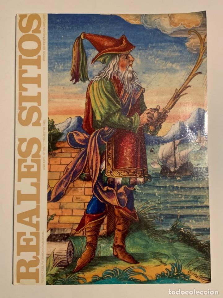 REVISTA REALES SITIOS - PATRIMONIO NACIONAL - AÑO XXVII Nº103 PRIMER TRIMESTRE 1990 (Coleccionismo - Revistas y Periódicos Modernos (a partir de 1.940) - Otros)