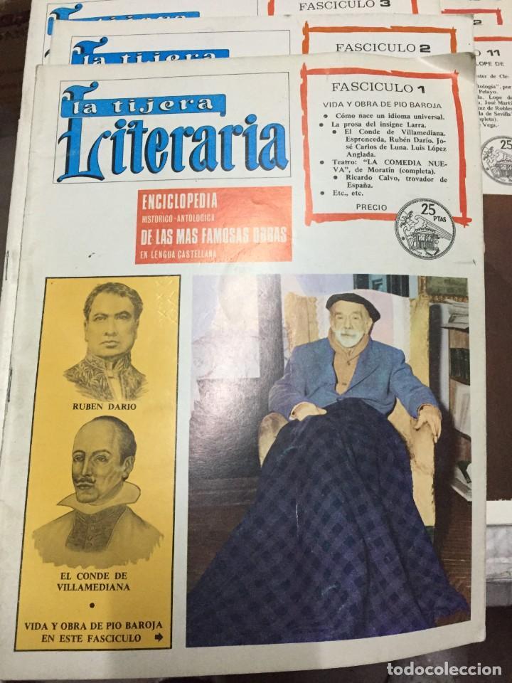 Coleccionismo de Revistas y Periódicos: LOTE DE 20 FASCISCULOS DEL NUMERO 1 AL 20 DE LA REVISTA LA TIJERA LITERARIA - Foto 2 - 245377435