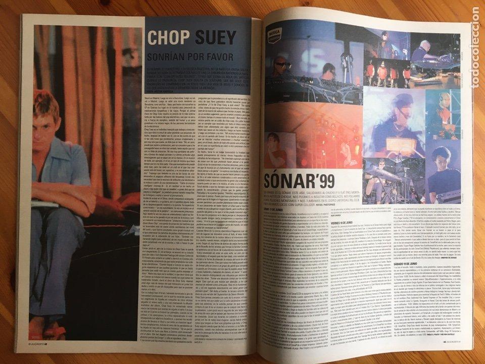 Coleccionismo de Revistas y Periódicos: Revista Ab A Barna, nº 67 (Julio / Agosto, 1999). Chemical Brothers - Foto 5 - 245375570