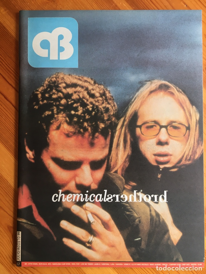 REVISTA AB A BARNA, Nº 67 (JULIO / AGOSTO, 1999). CHEMICAL BROTHERS (Coleccionismo - Revistas y Periódicos Modernos (a partir de 1.940) - Otros)