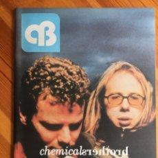 Coleccionismo de Revistas y Periódicos: REVISTA AB A BARNA, Nº 67 (JULIO / AGOSTO, 1999). CHEMICAL BROTHERS. Lote 245375570