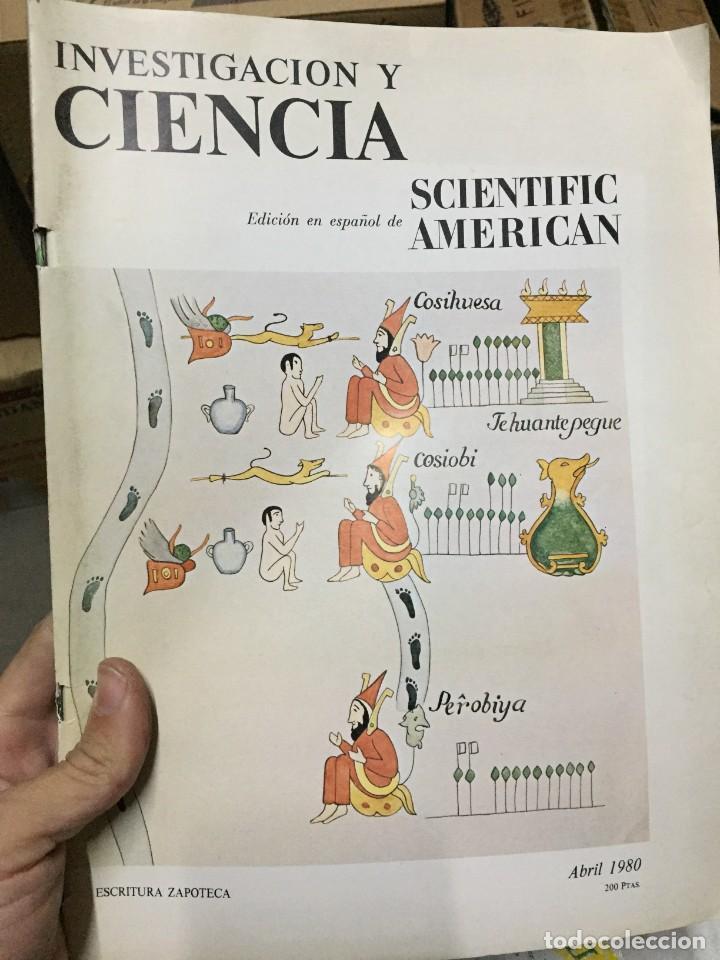 REVISTA INVESTIGACION Y CIENCIA EDICION EN ESPAÑOL SCIENTIFIC AMERICAN ABRIL 1980 (Coleccionismo - Revistas y Periódicos Modernos (a partir de 1.940) - Otros)