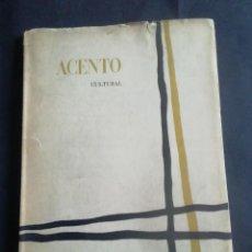 Coleccionismo de Revistas y Periódicos: ACENTO CULTURAL. NÚMERO 3. ENERO, 1959. ED. SEU.. Lote 245389000