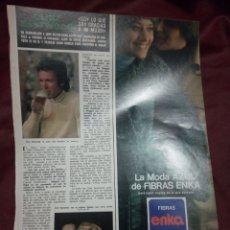 Coleccionismo de Revistas y Periódicos: CLINT EASTWOOD HOLA 8.11.75.. Lote 245501265
