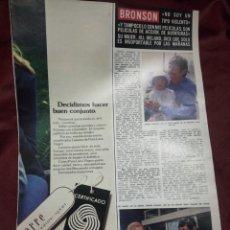 Coleccionismo de Revistas y Periódicos: CHARLES BRONSON HOLA 18.10.76.. Lote 245501325