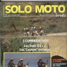 Coleccionismo de Revistas y Periódicos: SOLO MOTO NUMERO 055. Lote 245593965